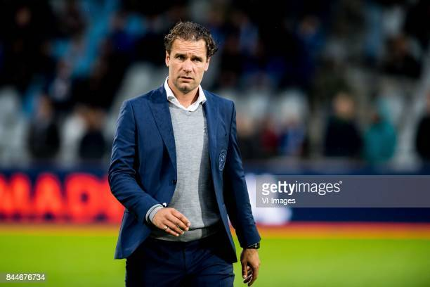 assistent trainer Sandor van der Heide of De Graafschap during the Jupiler League match between De Graafschap and MVV Maastricht at the Vijverberg...