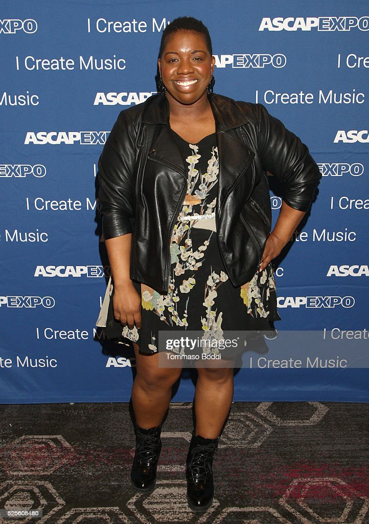Associate Director for the Rhythm and Soul Department Joncier Rienecker attends the 2016 ASCAP 'I Create Music' EXPO on April 28, 2016 in Los Angeles, California.