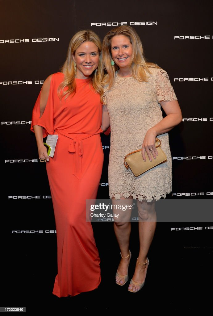 Associate Director of Special Events at Vogue, Cara Crowley and Los Angeles Executive Director of Vogue, Carol Ann Hamill attends the Porsche Design and Vogue re-opening event at Porsche Design Beverly Hills on July 11, 2013 in Beverly Hills, California.