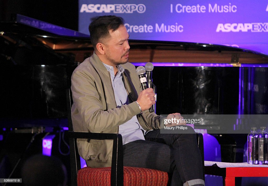Associate Director, Pop/Rock, Membership Ed Reyes speaks onstage at the 2016 ASCAP 'I Create Music' EXPO on April 30, 2016 in Los Angeles, California.