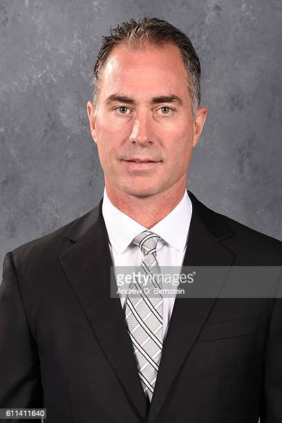 Associate Head Coach John Stevens of the Los Angeles Kings poses for his official headshot for the 20162017 season on September 22 2016 at the Toyota...
