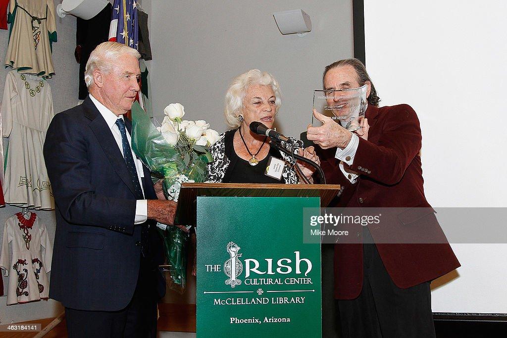 Sandra Day O'Connor Receives Prestigious Award From Irish ...