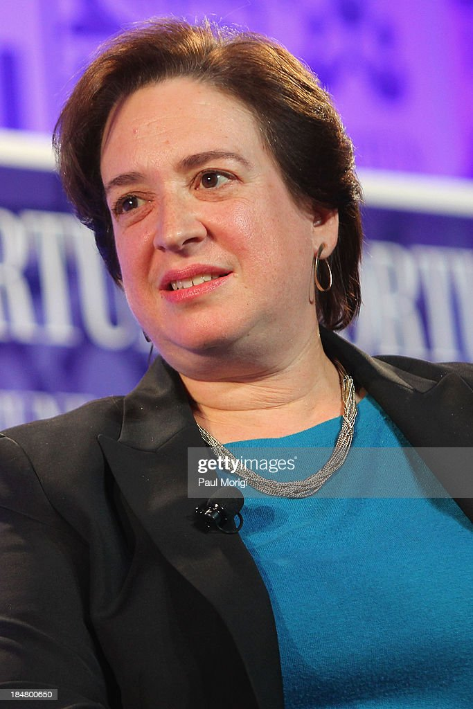Associate Justice of the U.S. Supreme Court Elena Kagan speaks onstage at the FORTUNE Most Powerful Women Summit on October 16, 2013 in Washington, DC.