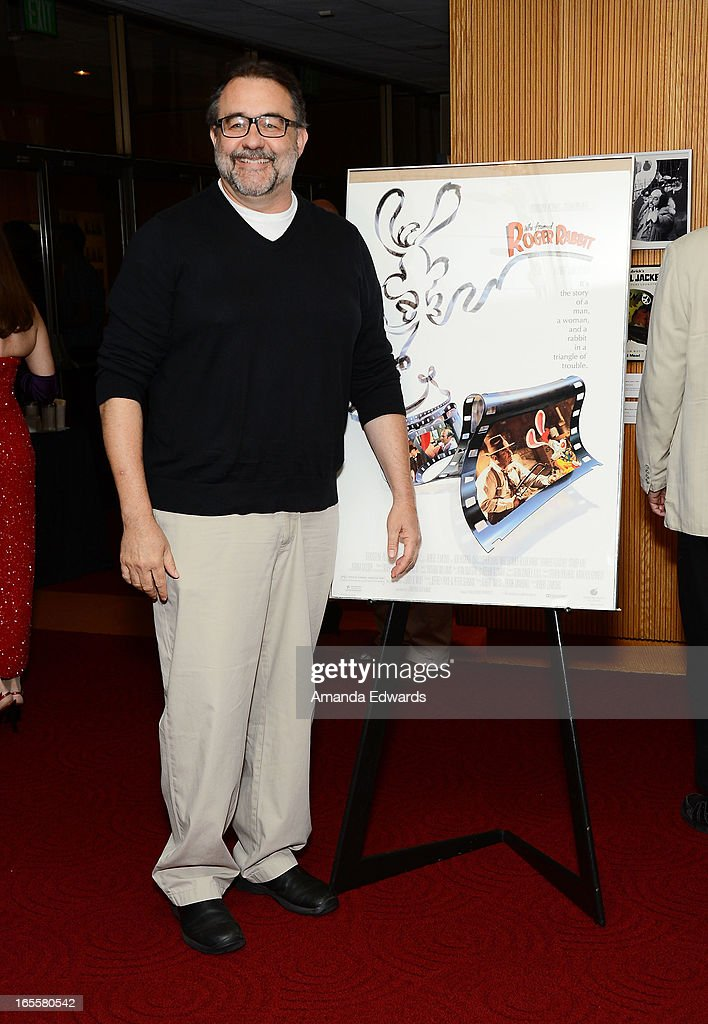 Associate producer Don Hahn arrives at The Academy Of Motion Picture Arts And Sciences' 25th Anniversary Screening Of 'Who Framed Roger Rabbit' at AMPAS Samuel Goldwyn Theater on April 4, 2013 in Beverly Hills, California.