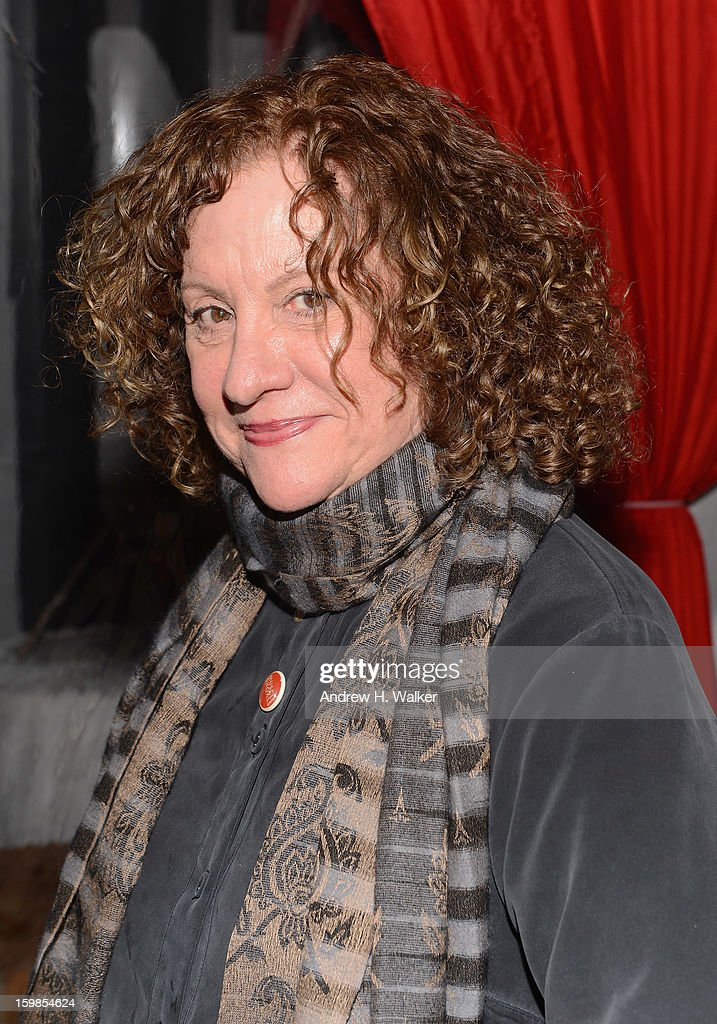 Associate producer Linda Livingston attends the Stella Artois 'Muscle Shoals' cocktail party at Village at the Lift on January 21, 2013 in Park City, Utah.