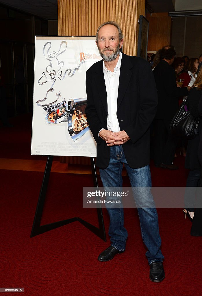 Associate producer Steve Starkey arrives at The Academy Of Motion Picture Arts And Sciences' 25th Anniversary Screening Of 'Who Framed Roger Rabbit' at AMPAS Samuel Goldwyn Theater on April 4, 2013 in Beverly Hills, California.