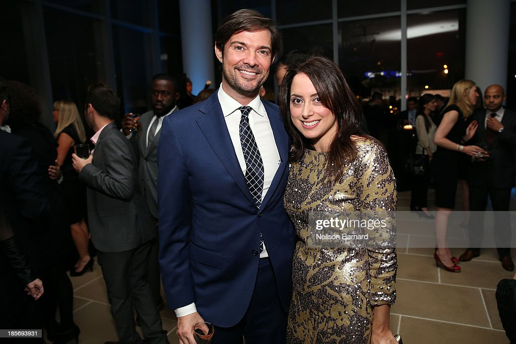 Associate publisher at GQ Brendan Monaghan (L) and guest attend the 2013 GQ Gentlemen's Ball presented by BMW i, Movado, and Nautica at IAC Building on October 23, 2013 in New York City.