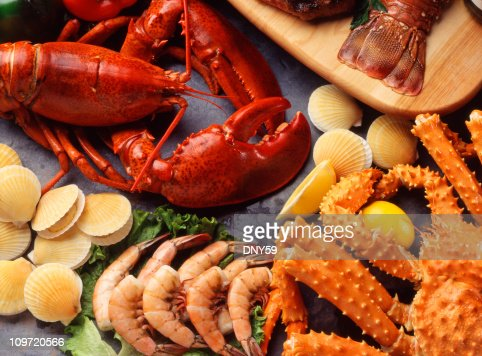 Assorted Seafood : Stock Photo