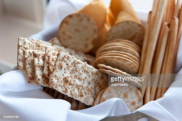 Assorted crackers