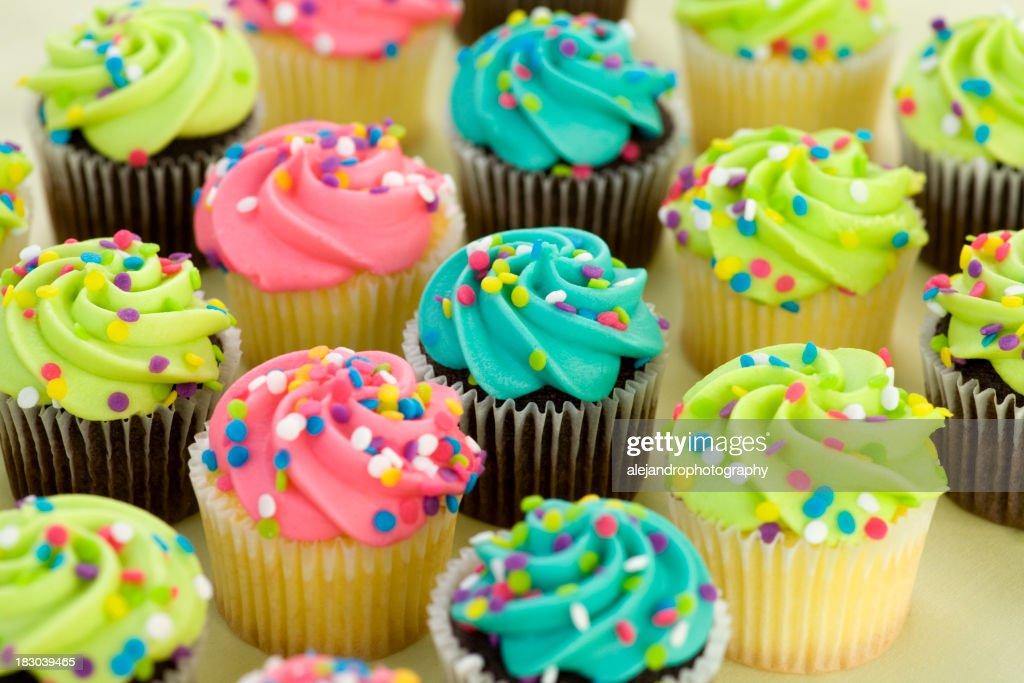 assorted cupcakes : Stock Photo