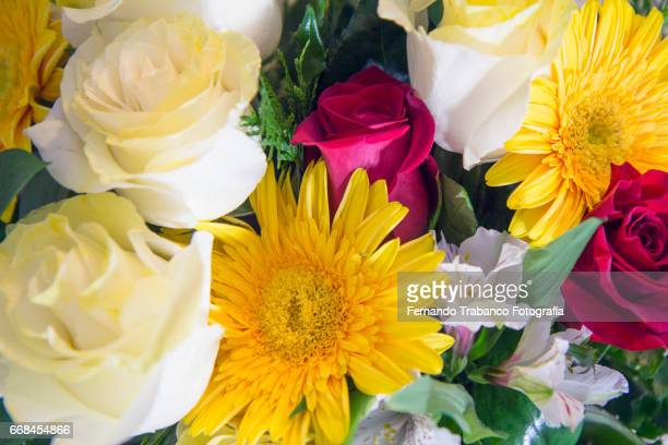 Assorted flowers bouquet with good perfume