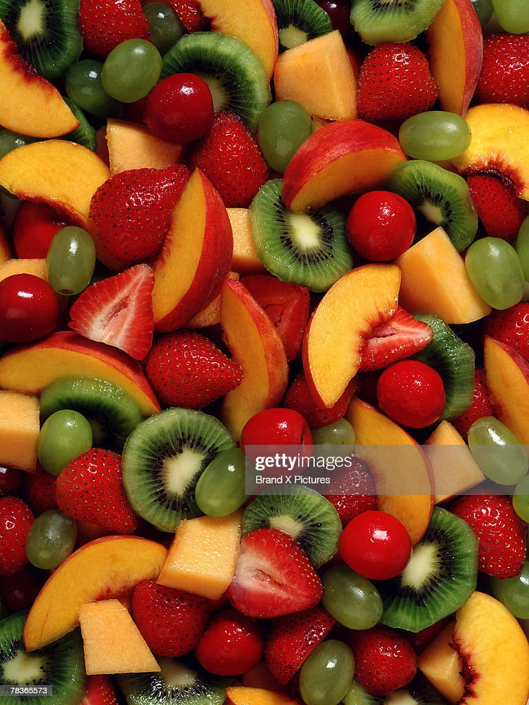 Assorted fruit salad : Stock Photo