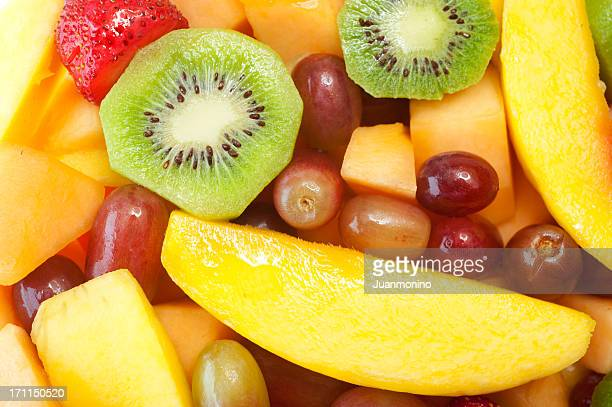 Assorted fruits Background