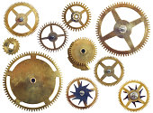 Assorted gearwheels