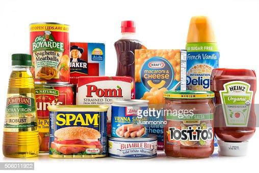 各種の食料品