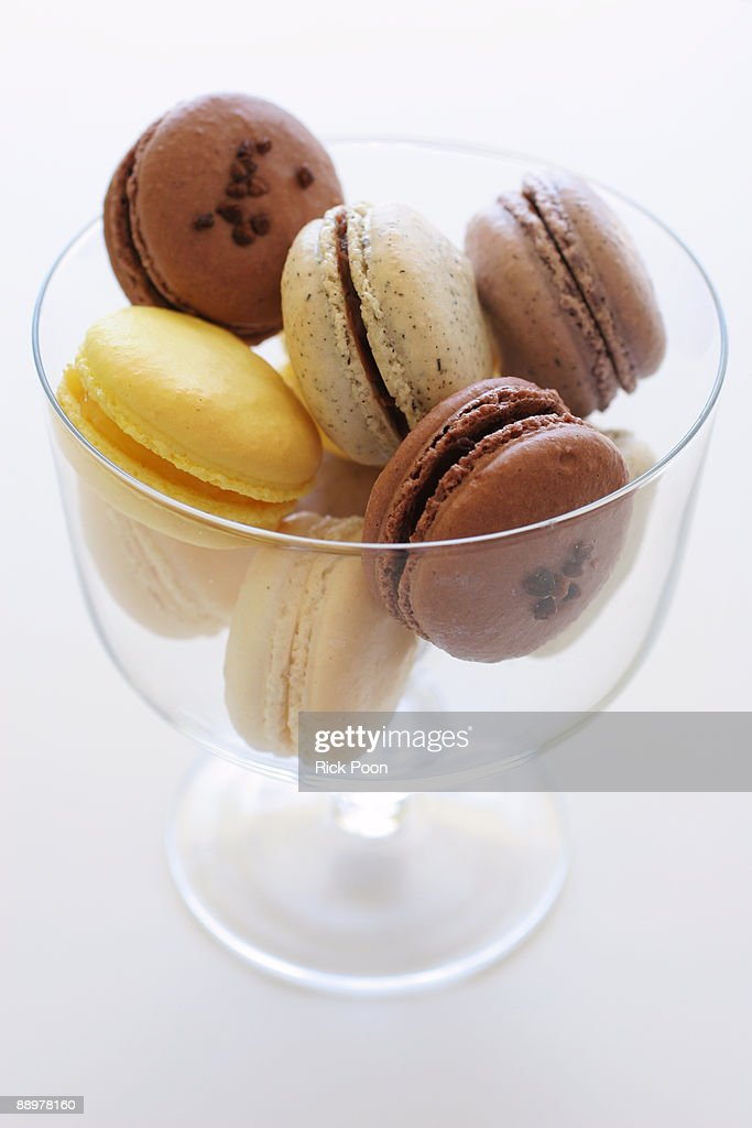 Assorted macarons : Stock Photo