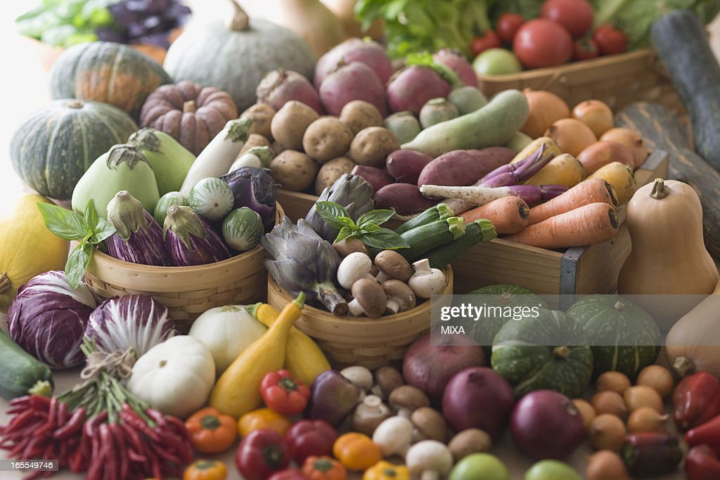 Assorted Multicolored Vegetable : Stock Photo