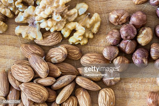 Assorted nuts : Stock Photo