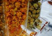Popcorn, Blueberry, Candy, Caramel, Cherry, Fruit Flavor