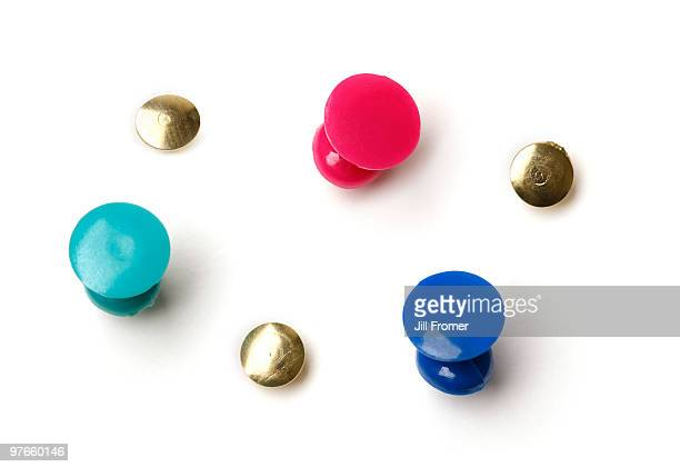 Assorted Push Pins and Thumbtacks