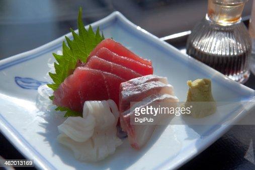 Assorted sashimi : Stock Photo