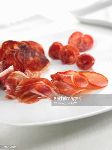 Assorted Spanish cold cuts