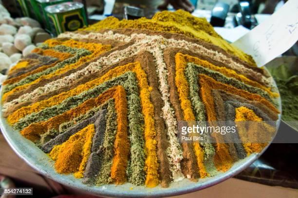 Assorted spices in  Isfahan Bazaar, Iran