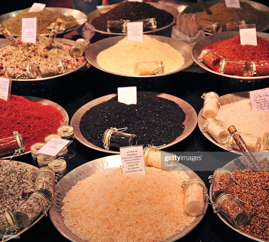 assorted spices : Stock Photo