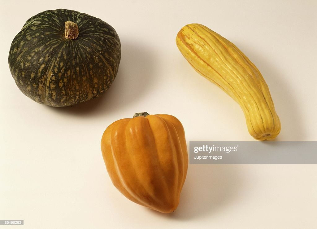 Assorted squashes