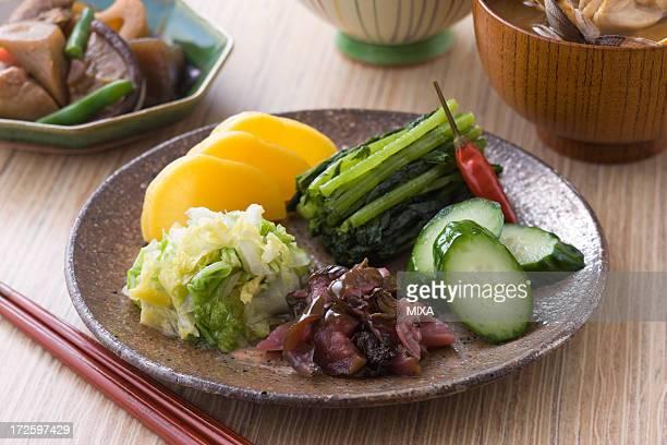 Assorted Tsukemono