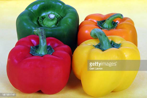 Assortment of bell peppers