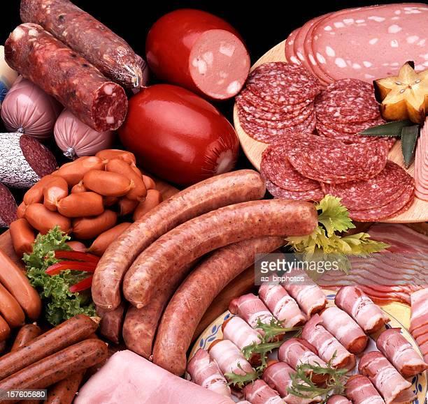 Variedade de Carnes frias