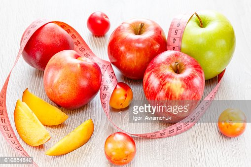 Assortment of juicy fruits background : Stock Photo