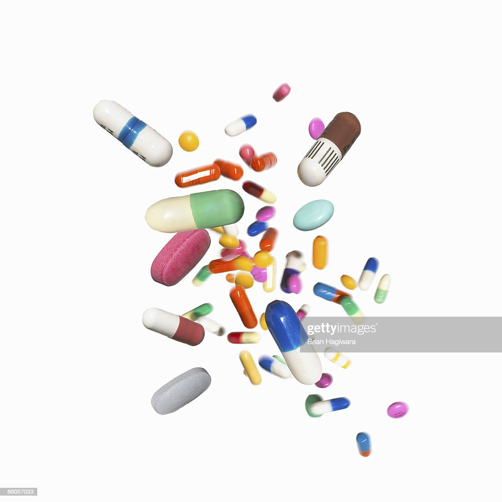 Assortment of medications : Stock Photo