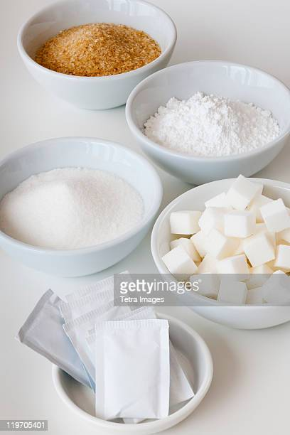 Assortment of sugar