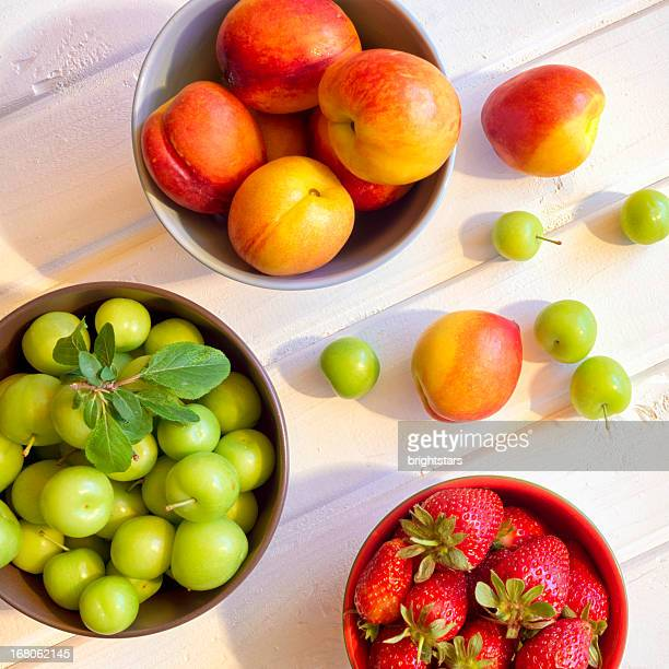 Assortment of summer fruits
