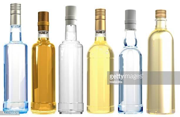 3 D Assoted frascos