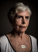 Assumpcio Ruera poses for a portrait on July 11 2016 in Terrassa Spain Assumpcio is one of the last living survivors of the Italian air raid over...