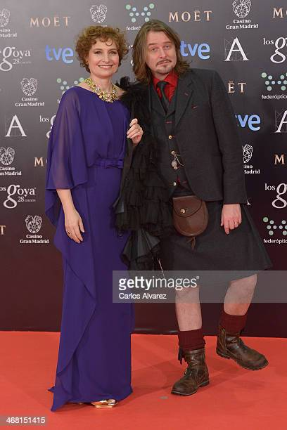 Assumpta Serna attends Goya Cinema Awards 2014 at Centro de Congresos Principe Felipe on February 9 2014 in Madrid Spain