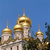 Assumption Cathedral in the Kremlin, Moscow, Russia