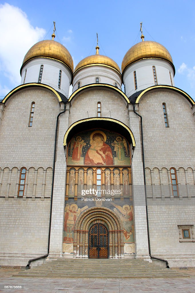 Assumption Cathedral, Kremlin, Moscow, Russia