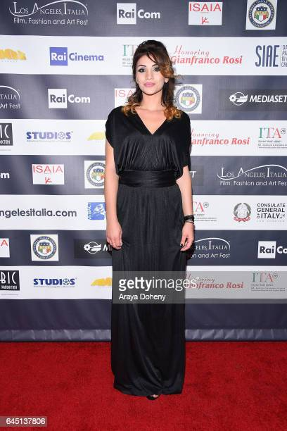 Assunta Mari attends the 12th Edition of the Los Angeles Italia Film Fashion and Art Fest at TCL Chinese 6 Theatres on February 24 2017 in Hollywood...