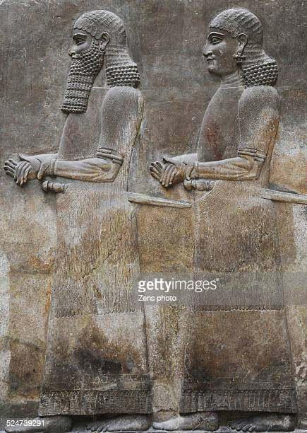 Assyria warrior sculpture