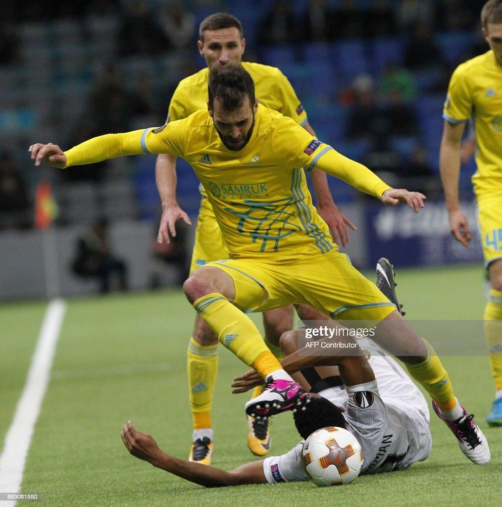FK Astana v Maccabi Tel Aviv - UEFA Europa League