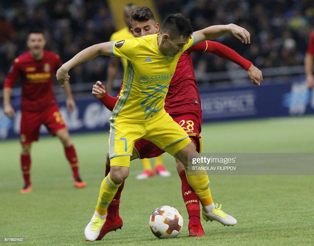 FK Astana v Villarreal CF - UEFA Europa League