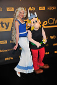 Asterix and Falbala attend the Melty Future Awards 2015 at Le Grand Rex on January 28 2015 in Paris France