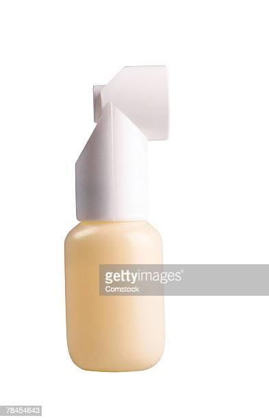 Asthma inhaler , aspirator