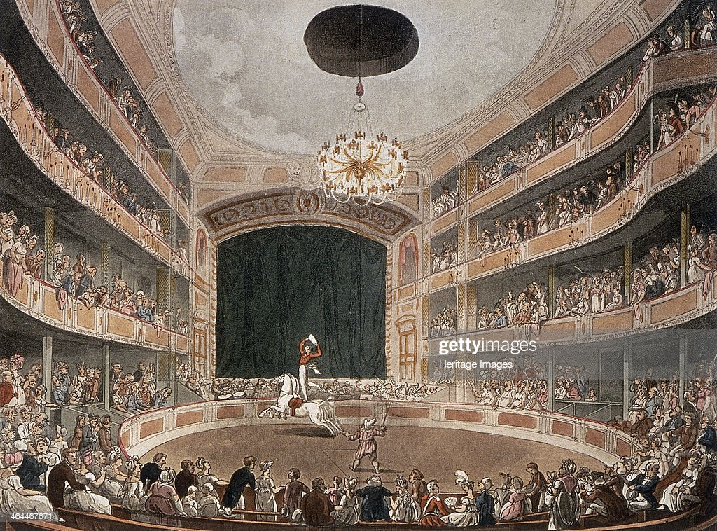 Astley's Royal Amphitheatre Lambeth London before 1895 Philip Astley opened the Astley's Amphitheatre in 1777 The amphitheatre mixed circus with...