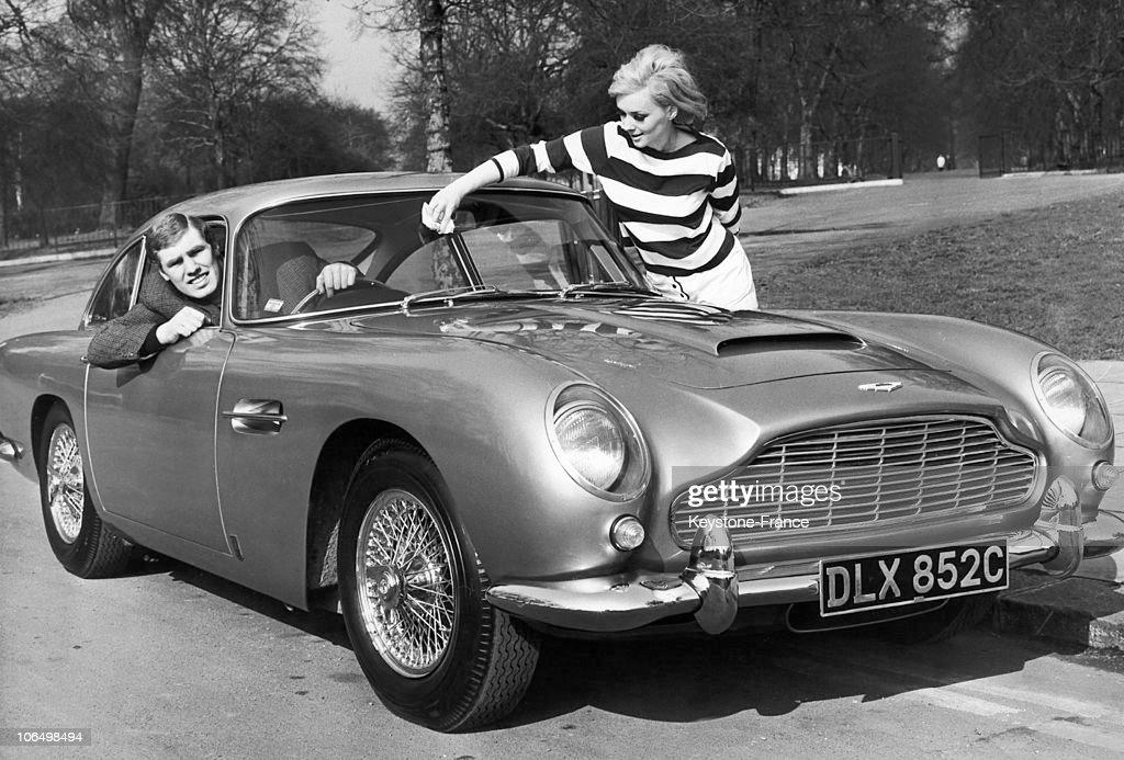 Aston Martin Db5 In London In 1965