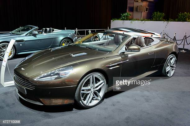 aston martin db9 stock photos and pictures getty images. Black Bedroom Furniture Sets. Home Design Ideas
